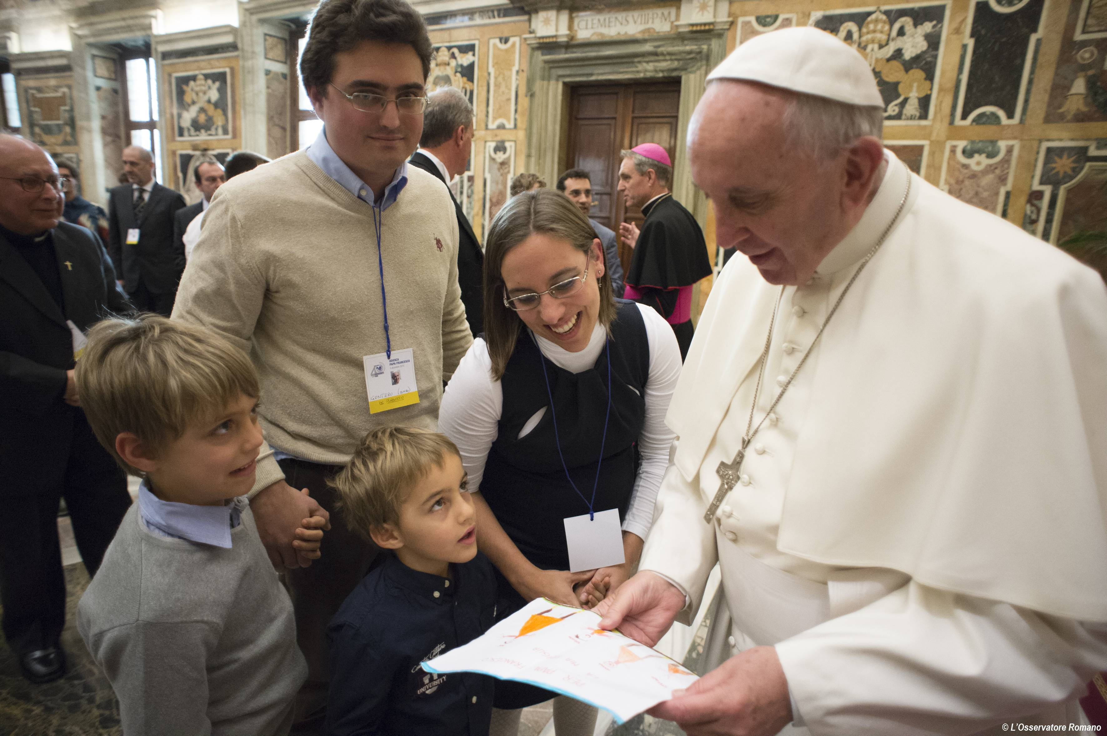Papal audience to the Association of Catholic School Parents (Associazione Genitori Scuole Cattoliche-AGESC)