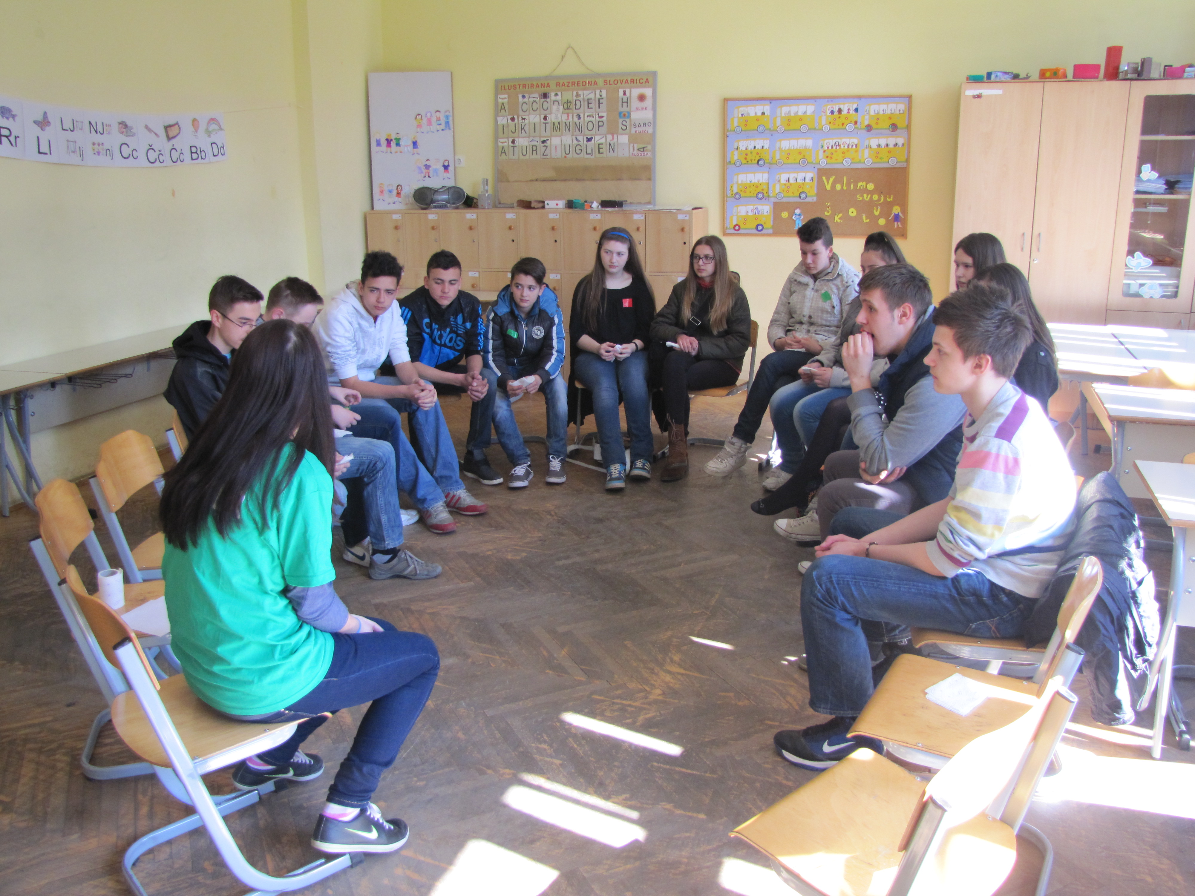 Youth meeting in Sarajevo