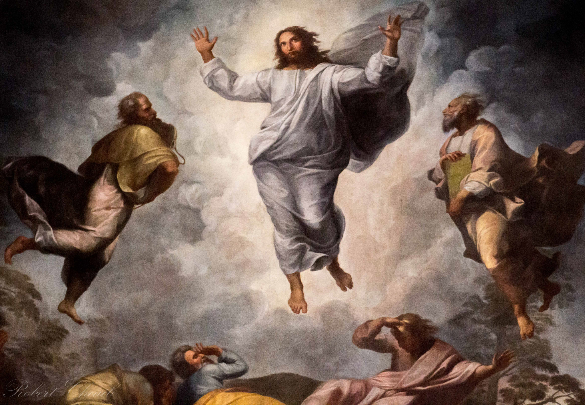 Transfiguration of the Lord. Affresco from the Vatican.