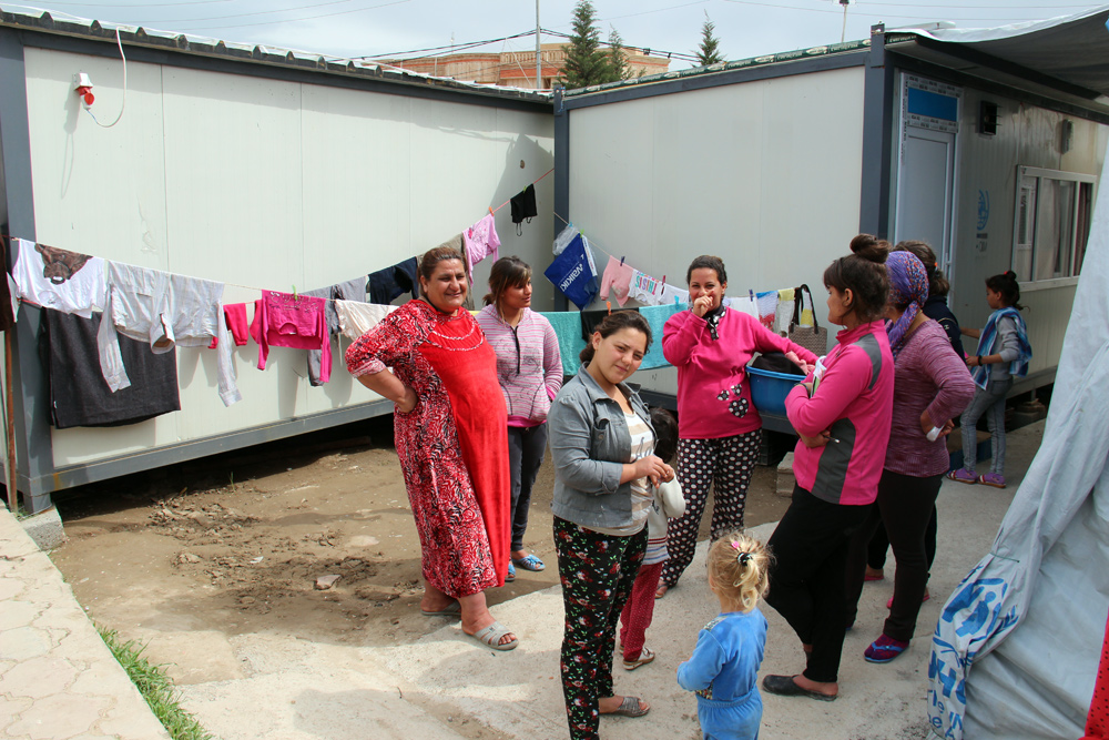 Refugee Housing Units of Aid to the Church in Need