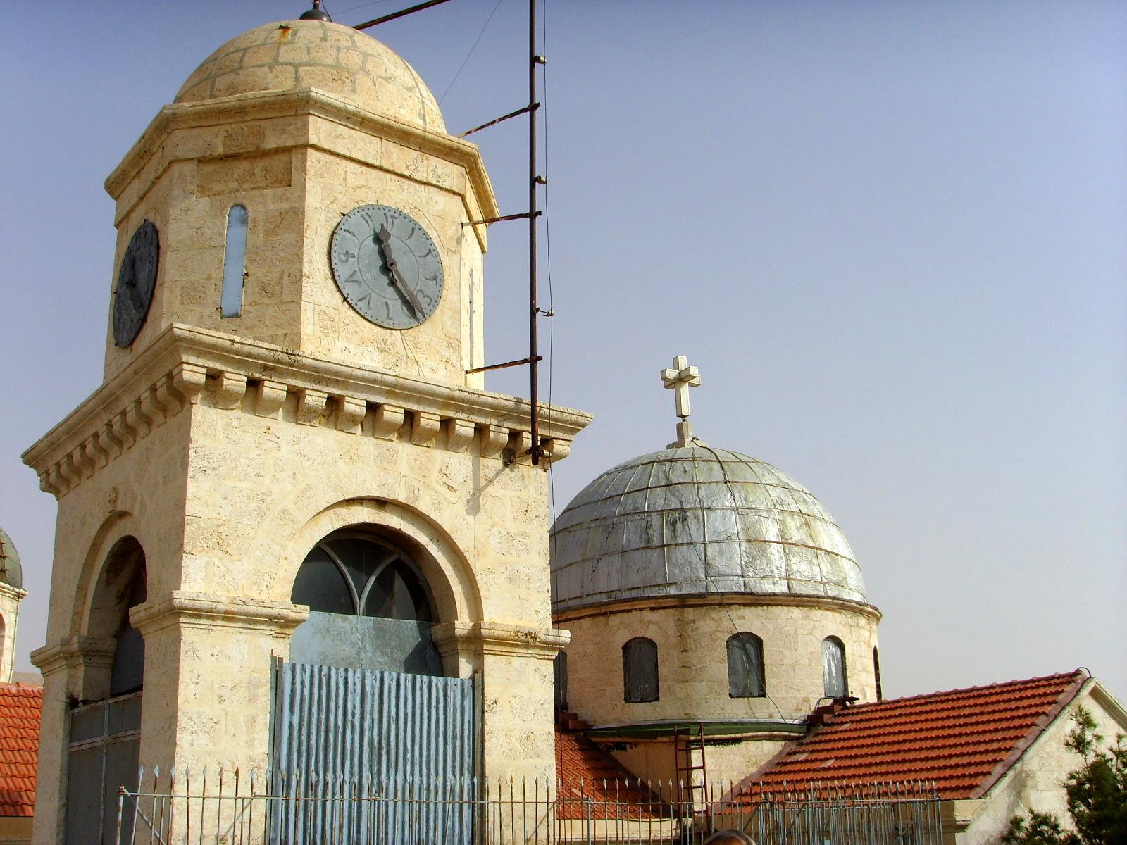 Monastery of Saint Serge in Maaloula (Syria)