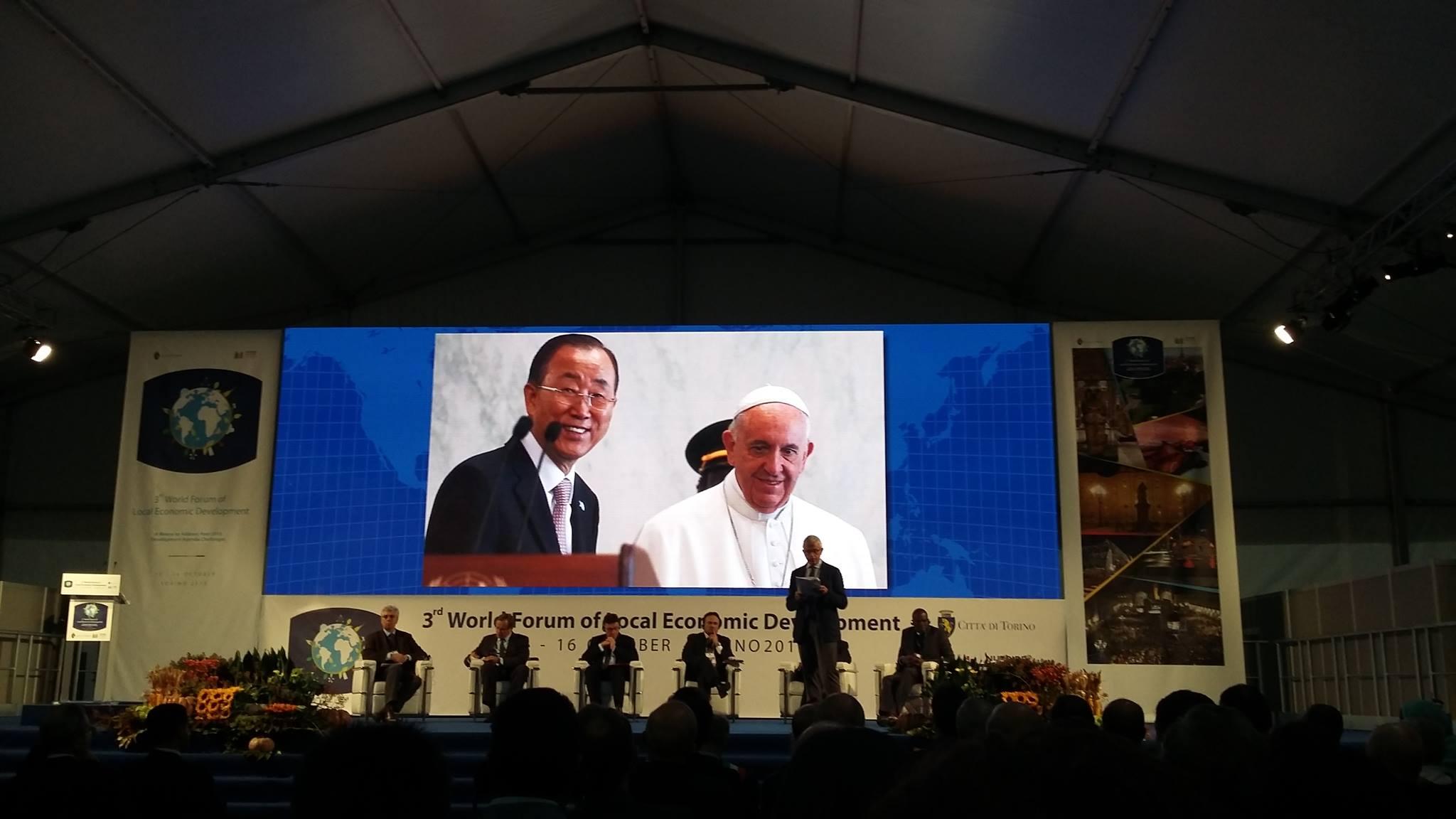 World Economic Forum in Turin
