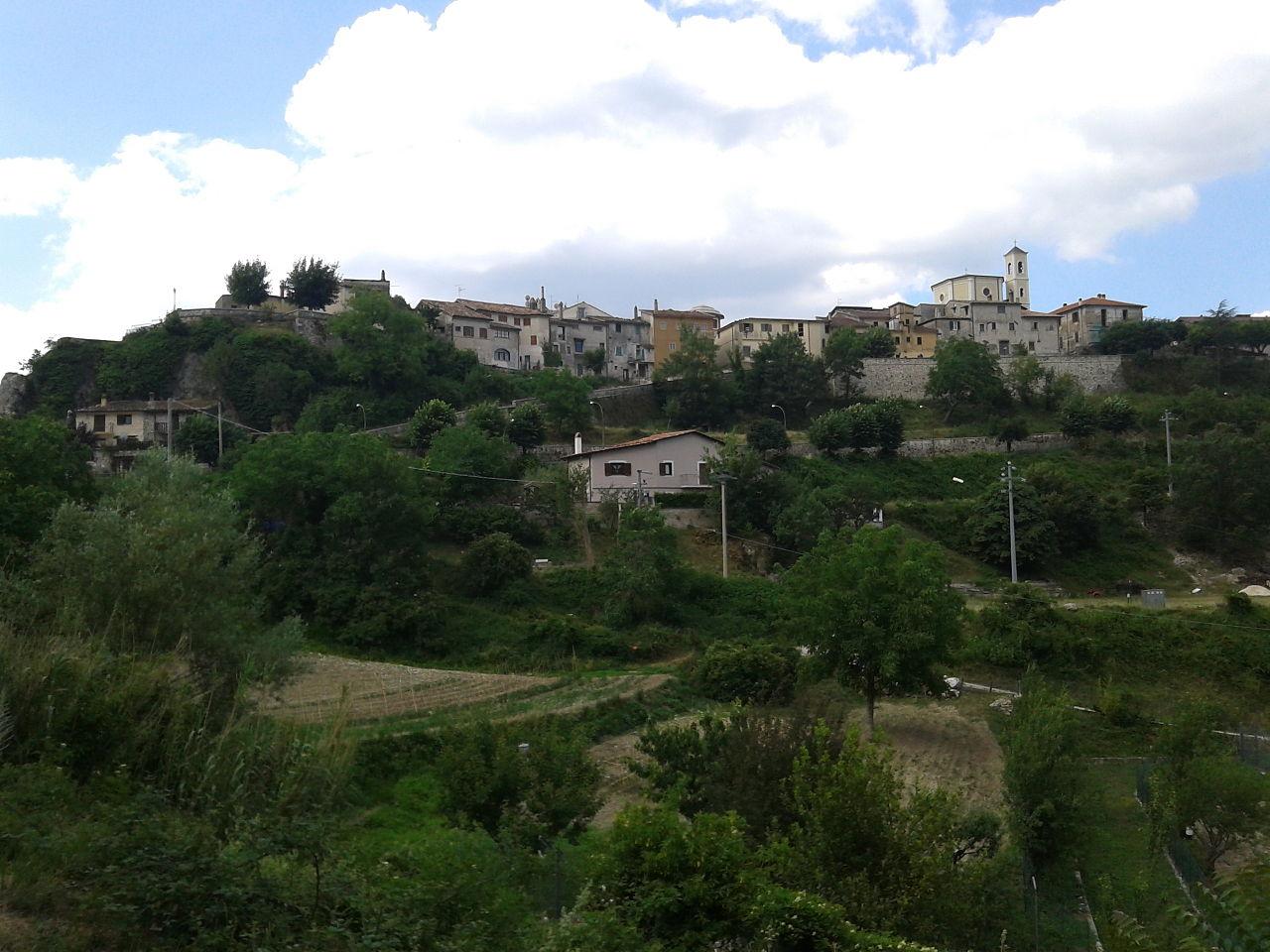 View of Civita d'Antino (or Antena)