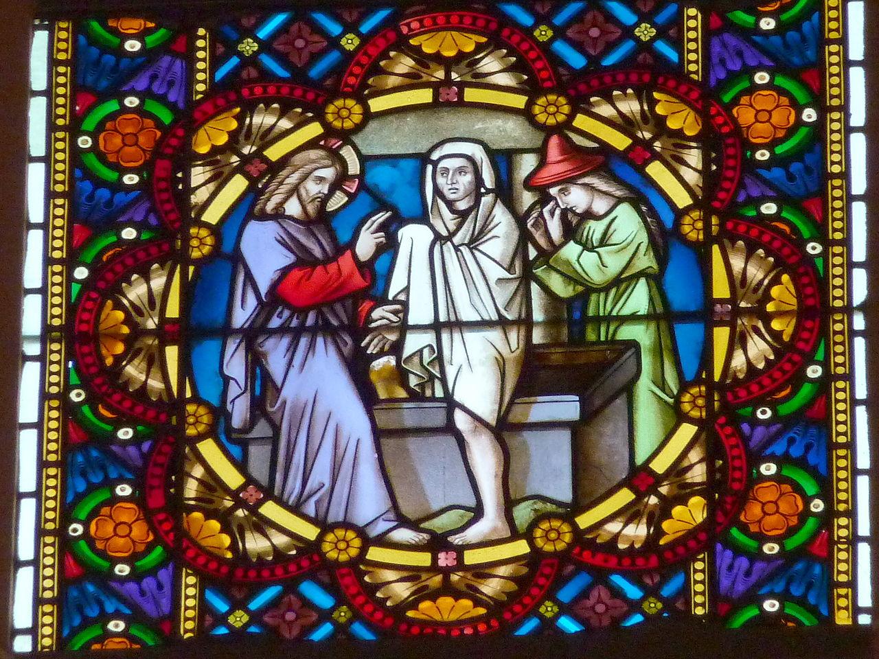 The Raising of Lazarus or the Resurrection of Lazarus