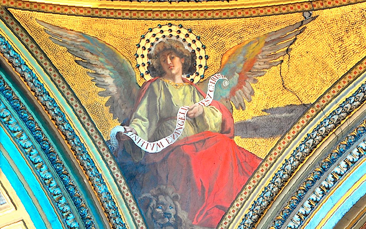 Angels. Church San Gioacchino in Prati