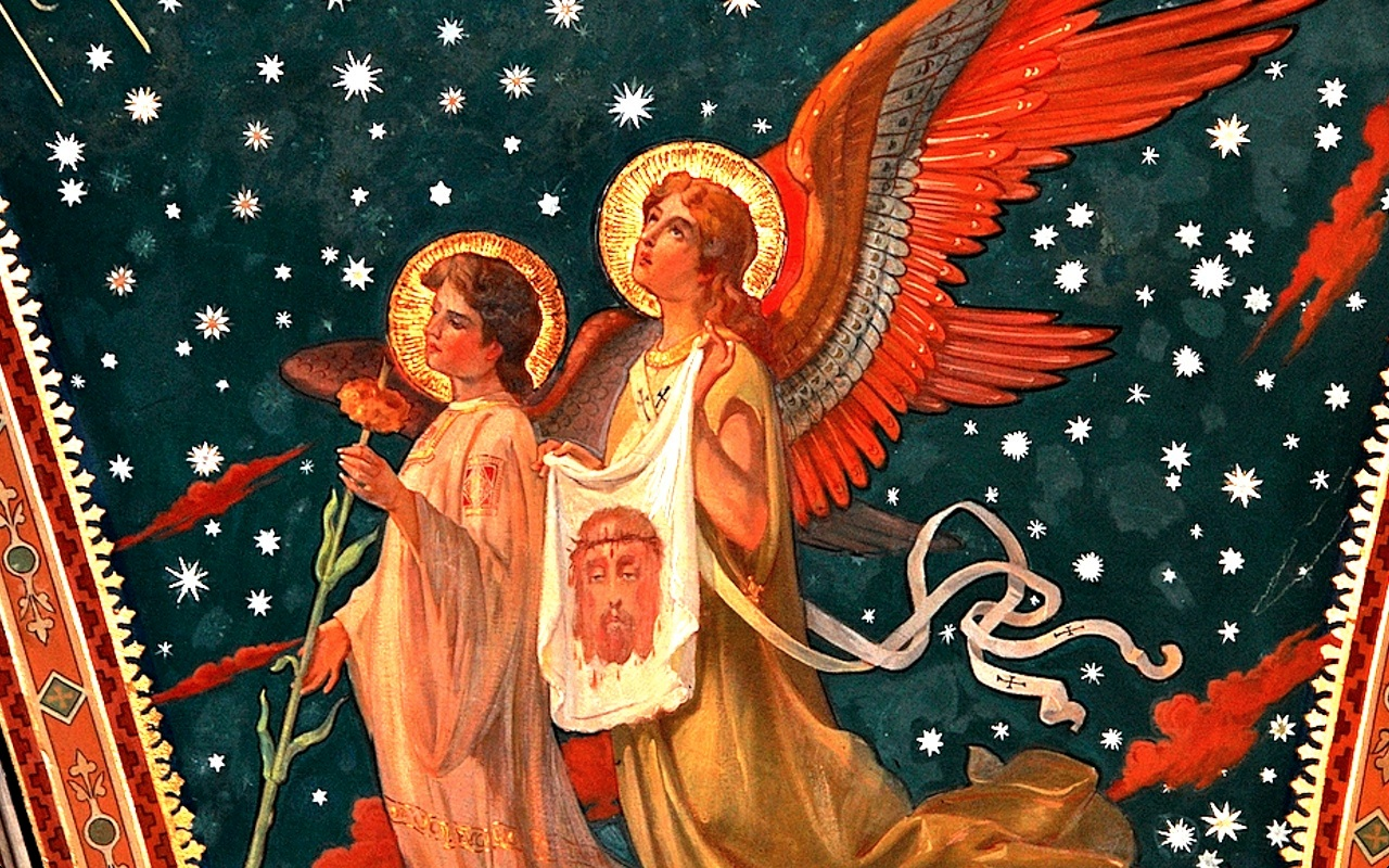 Angels with a Holy Face
