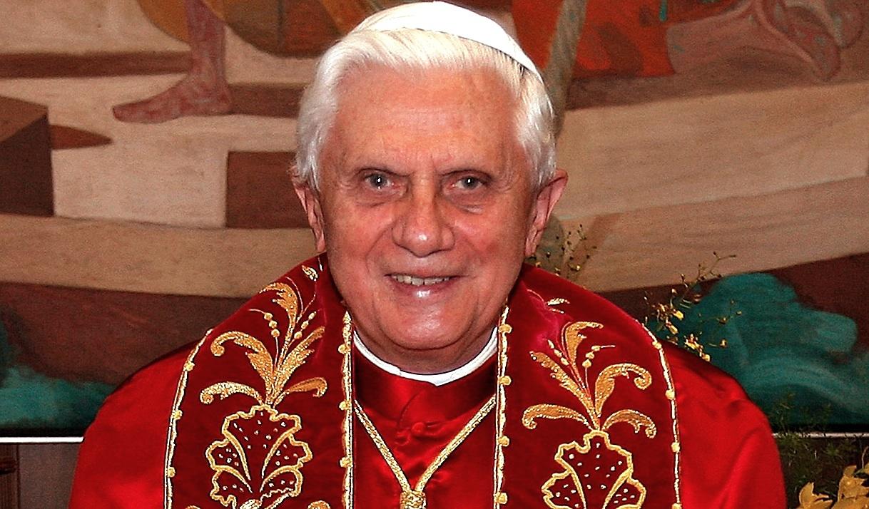 Benedict XVI during his visit in Brazil