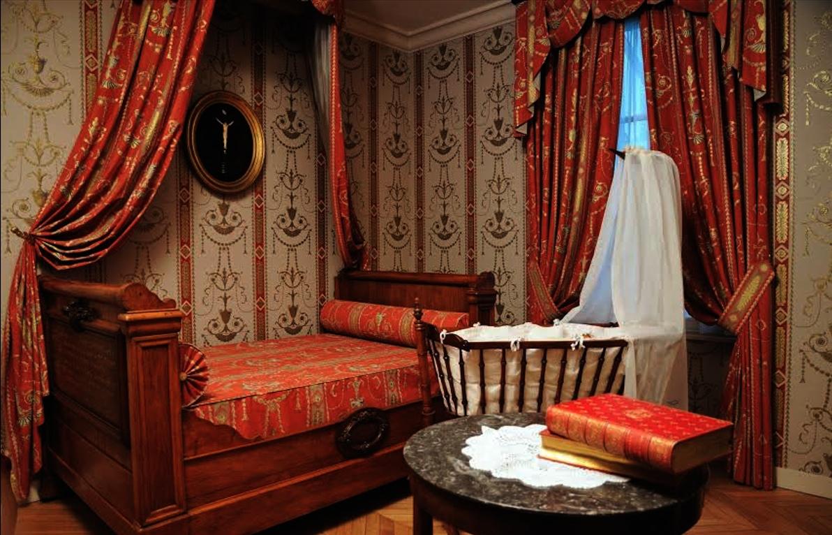 Bedroom Martin family's house at Alençon