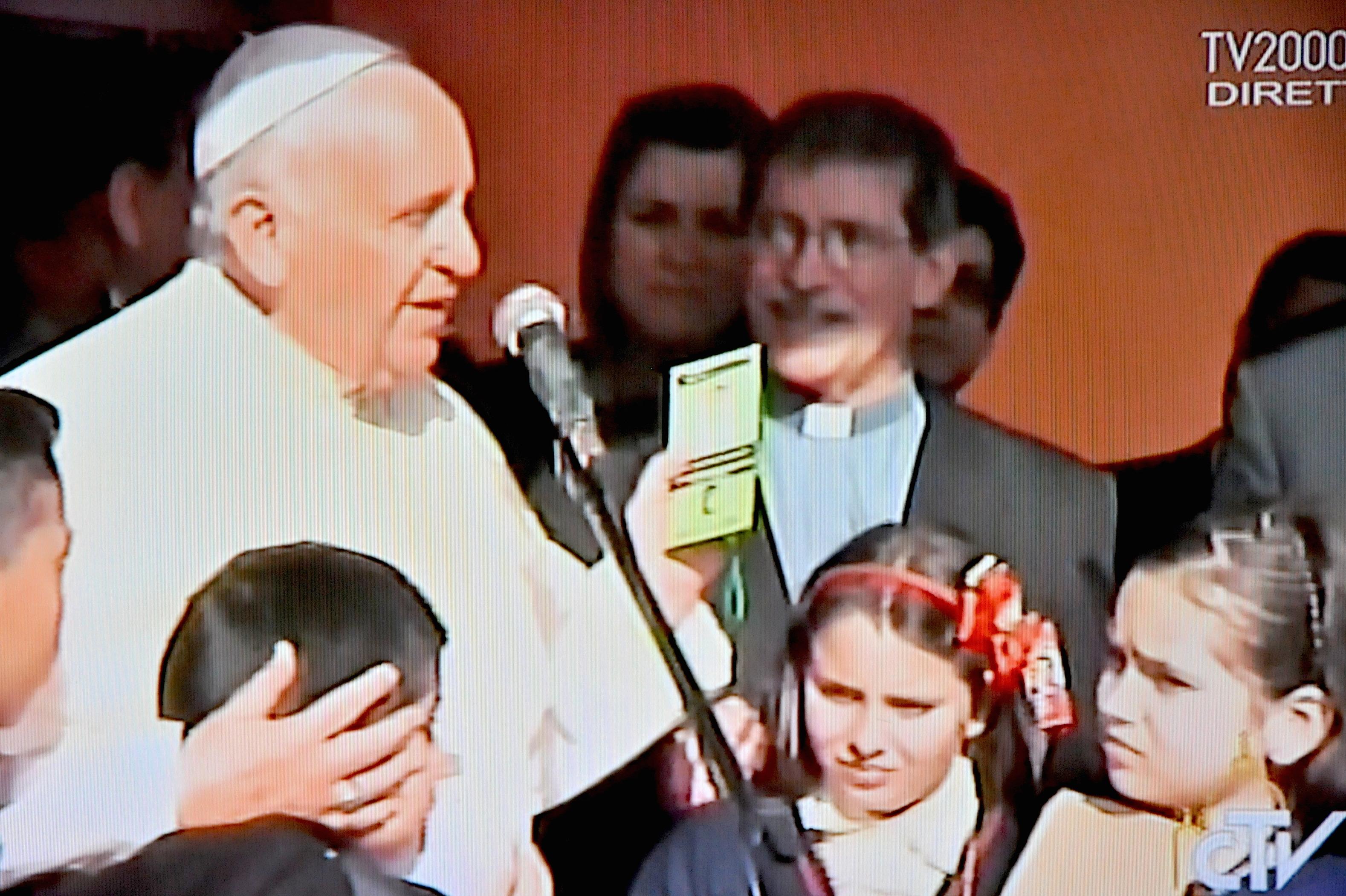 "Pope Francis in the Pediatric hospital of Paraguay ""Niños de Acosta Ñu"""