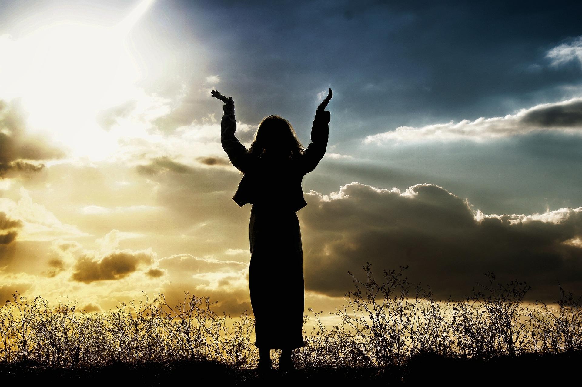 woman praying CC0 Pixabay
