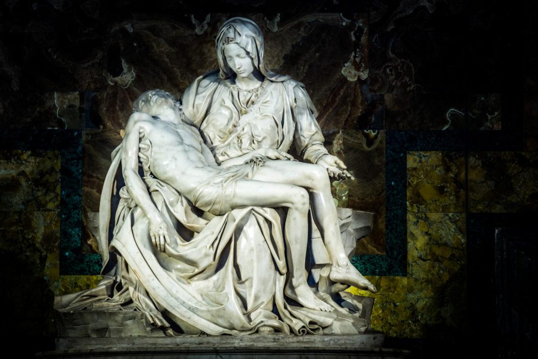 michelangelo pieta - Mary with the dead Jesus